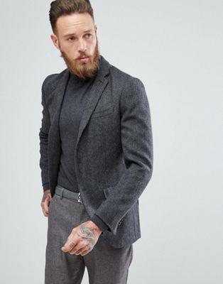 Image 1 of Jack & Jones Premium Slim Tweed Blazer