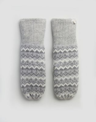 Image 1 of Jack Wills Fairisle Mitten