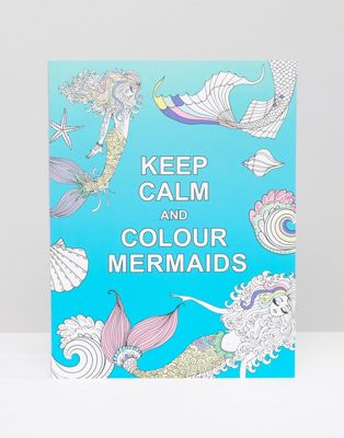 Image 1 of Keep Calm and Colour Mermaids