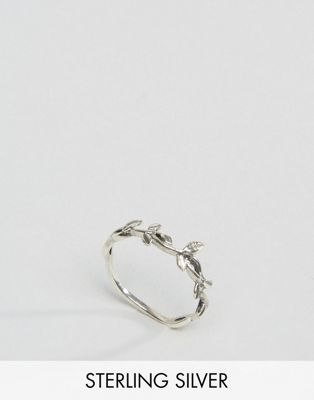 Image 1 of Kingsley Ryan Sterling Silver Vine Leaves Ring