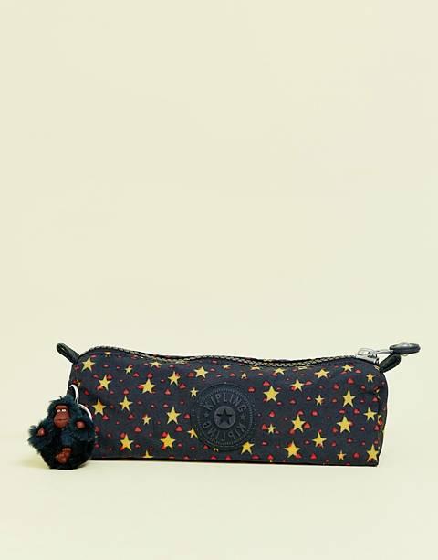 Kipling pencil case in star print