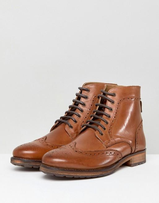 Kurt Geiger Harry Brogue Boots In RKZMWFx3U