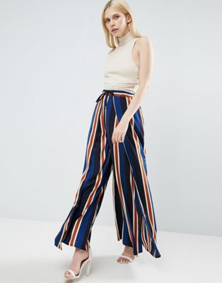Image 1 of Lavish Alice Striped Culottes