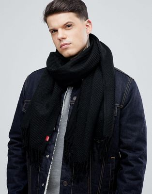Image 1 of Levi's Scarf In Black
