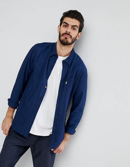 Home; Levi's Sunset Stripe Pocket Shirt Loon Indigo. image.AlternateText