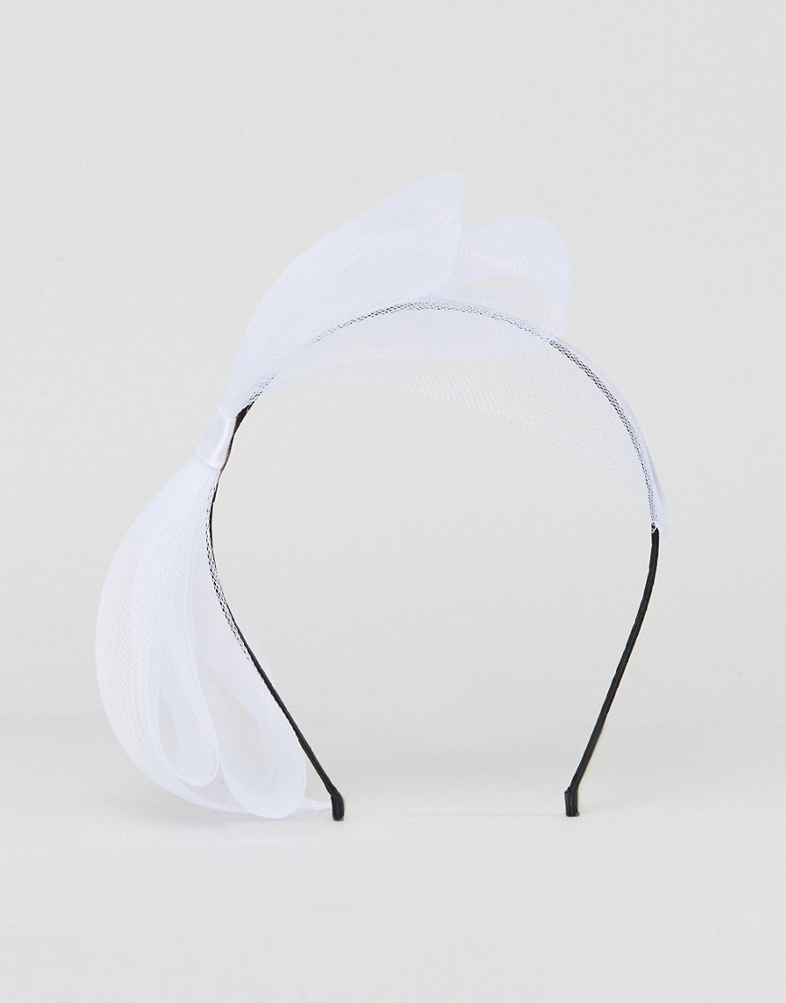 Limited Edition Mesh Bow Fascinator Headband by Asos Collection