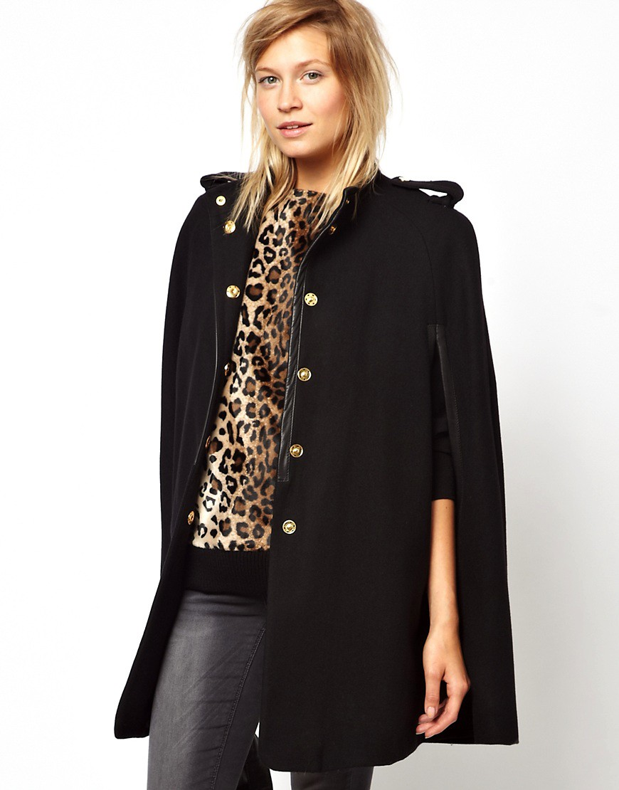Mango | Mango Military Cape Coat