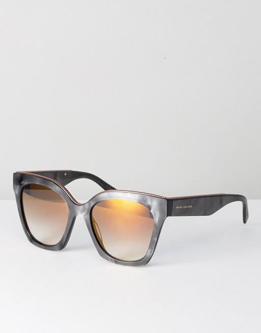 Marc Jacobs - 1862 S - Lunettes de soleil yeux de chat - Gris 6dde402f533d