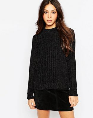 Image 1 of Minimum Turtle Neck Chunky Knit Jumper