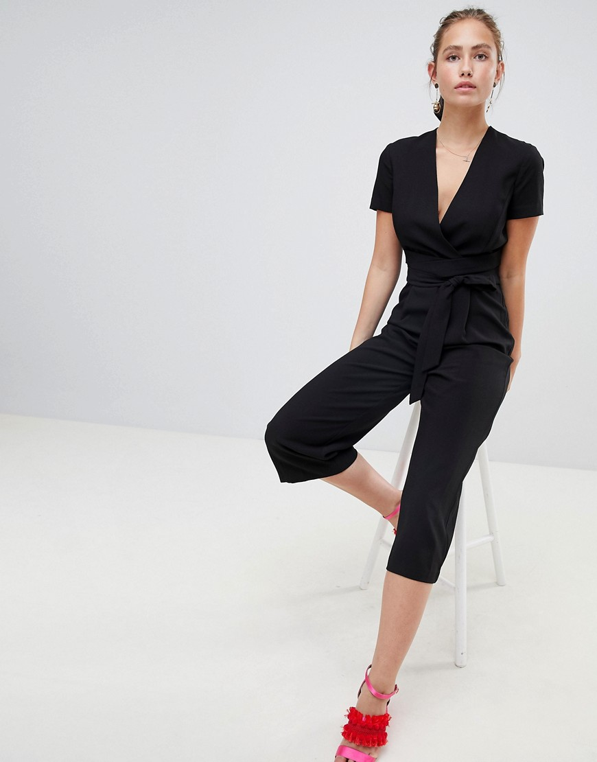 Miss Selfridge Jumpsuit With Tie Waist by Miss Selfridge