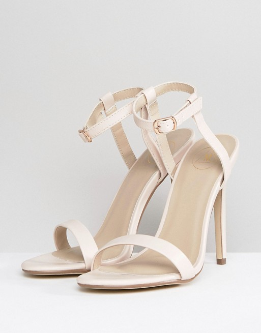 Barely Heeled Missguided Missguided Barely There Sandals Heeled There OPSFqxwf