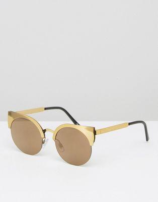 Image 1 of Monki Metal Cateye Sunglasses