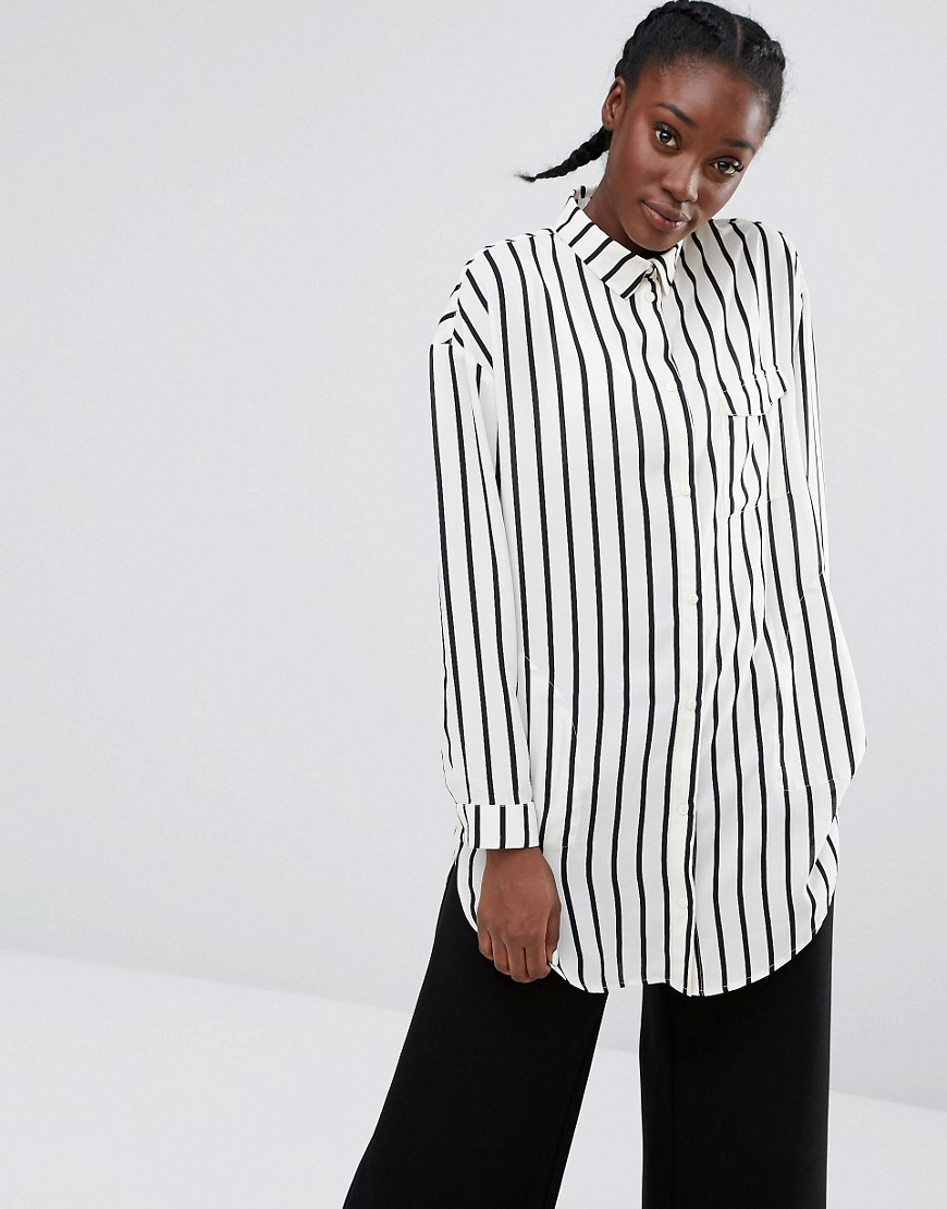 Striped Blouse - Stripes Monki