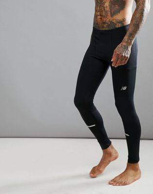 Image 1 of New Balance Running impact tights in black mp71228_bk