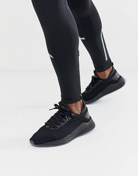 New Balance running Lazr trainers in black
