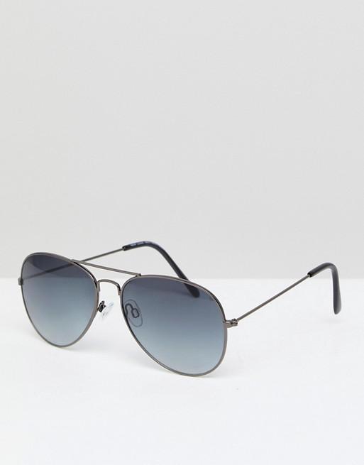 New aviator New sunglasses black Look Look in fx5wZRq