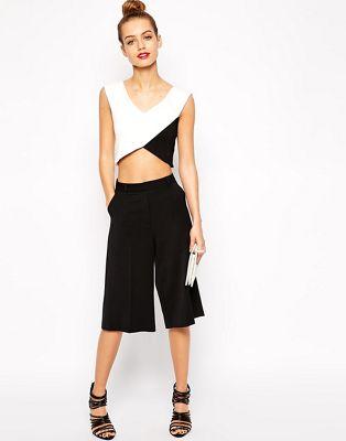 Bild 1 von New Look – Culottes aus Twill