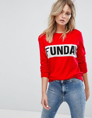 Image 1 of New Look Funday Sweater