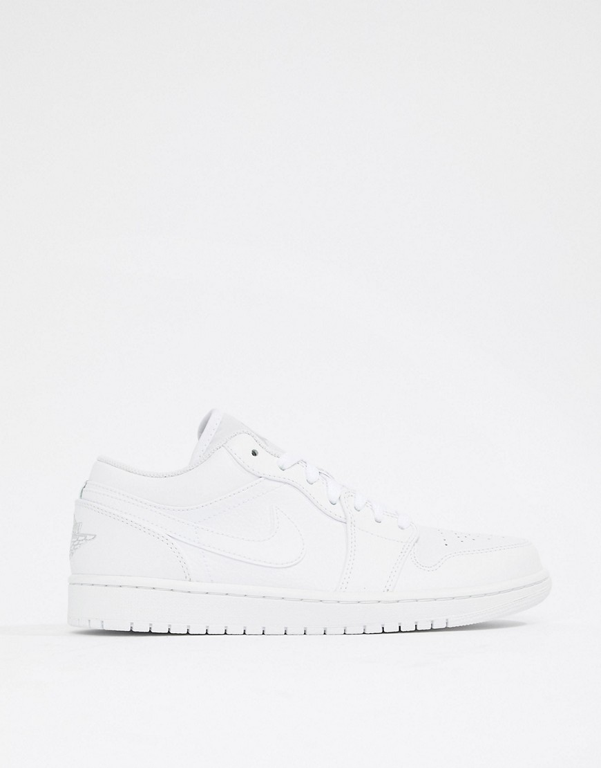 Nike Air   Jordan 1   Lage Sneakers In Wit 553558 109 by Asos