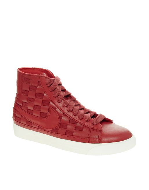 Image 1 of Nike Blazer Mid Hyper High Top Trainers