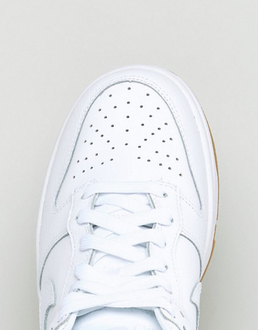 Low Dunk Nike In Essential White Trainers aHnnwx5fq