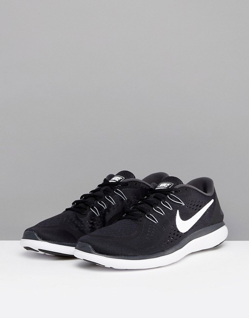 898457 trainers Running in 2017 black Nike 001 Flex q6HZa