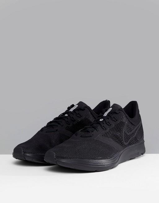 cheap price wholesale Nike Running Zoom Strike Trainers In Triple Black AJ0189-010 pre order sale online browse sale online GblnX0L9cA