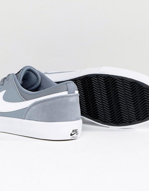 Nike SB - Portmore II SS - Baskets - Gris 880266-010