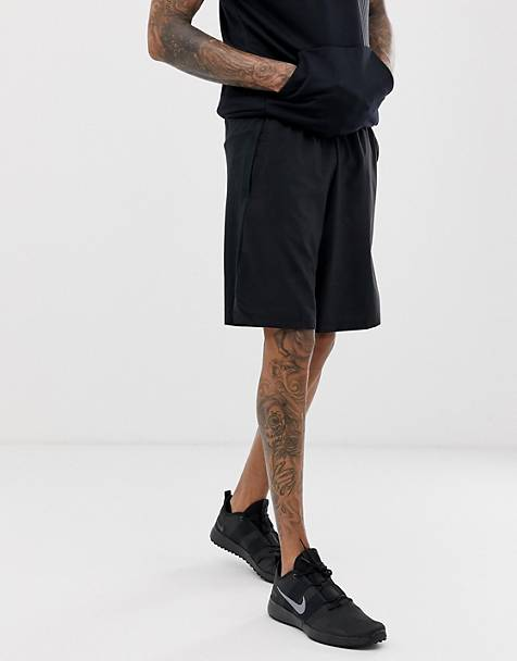 Nike Training Dry 4.0 logo shorts in black