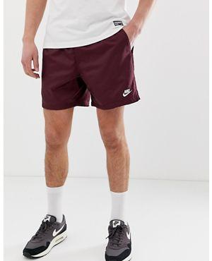 나이키 우븐 로고 반바지 - 버건디 Nike Woven Logo Shorts Burgundy,Purple