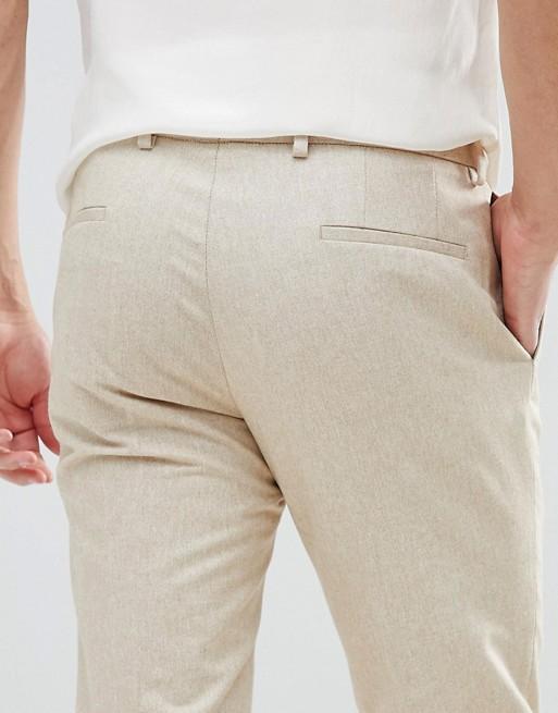Maigre Pantalon Léger À Dos De Chameau - Noak En Pierre U3aklYE