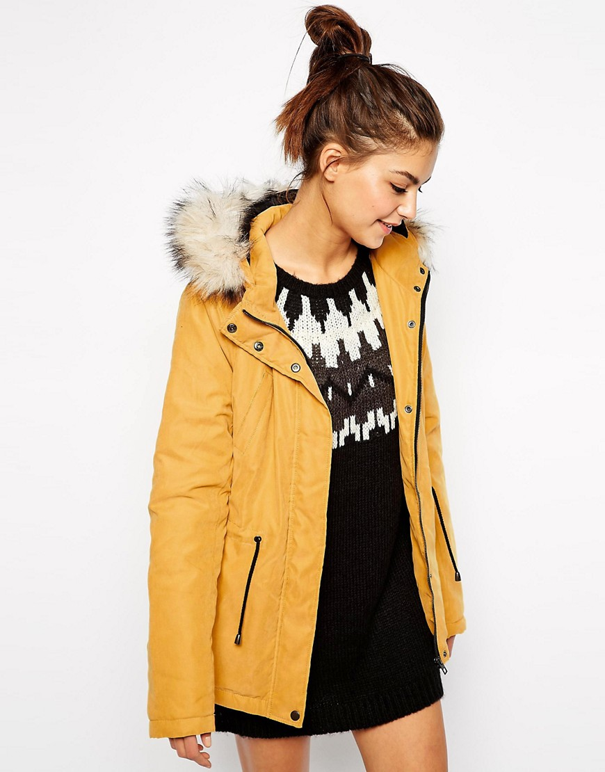 Only | Only Faux Fur Hooded Parka