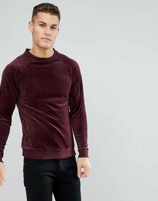 Only & Sons - Sweat-shirt en velours