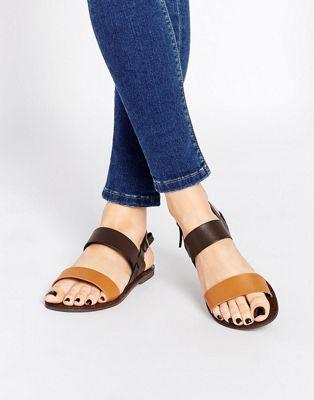 Image 1 of Park Lane Strap Flat Sandals