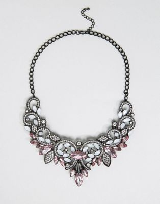 Image 1 of Pieces Fazzy Statement Necklace