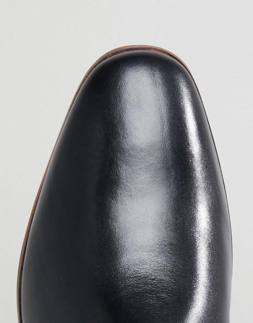 Pier One - Pier One - Desert boots en cuir - Noir Nouveau Limitée Vente Pas Cher Vraiment Pas Cher Mieux En Ligne De Nombreux Types De Ligne rdVPlFxm