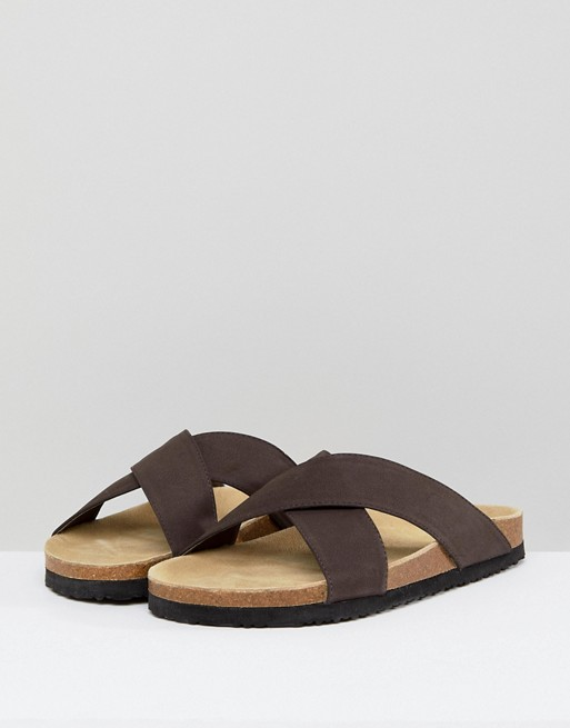 Pier sandals One One sandals Pier brown in sandals Pier brown in One qXpn5x6wrp