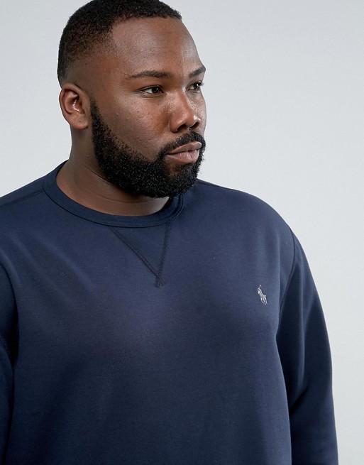 Polo Ralph Lauren PLUS - Sweat-shirt avec logo - Bleu marine