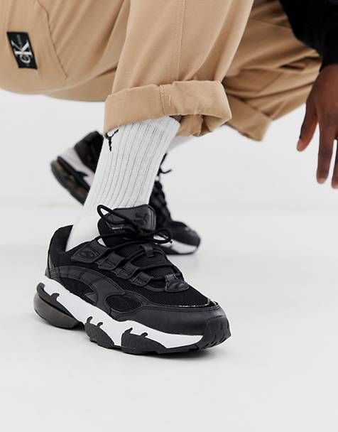 Puma Cell Venom trainers in black