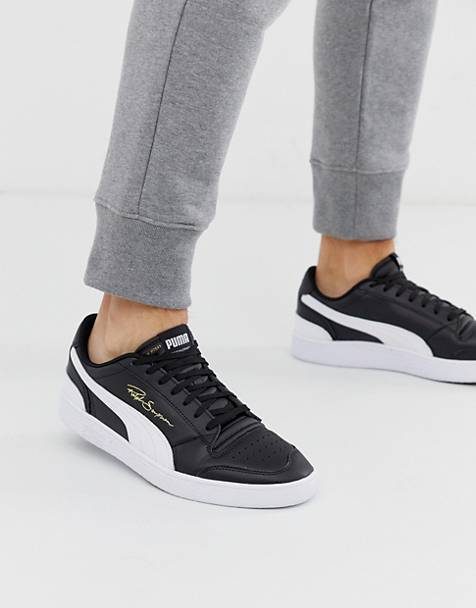 Puma Ralph Sampson Lo trainers in black