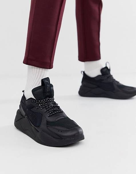 Puma RS-X Core trainers in black