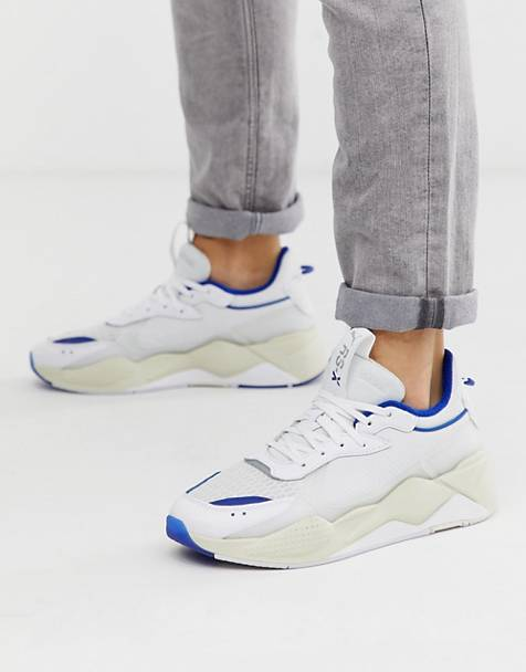 Puma RS-X Tech Trainers in white