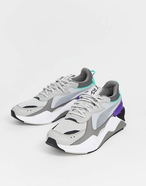 Puma RS-X Tracks trainers in grey