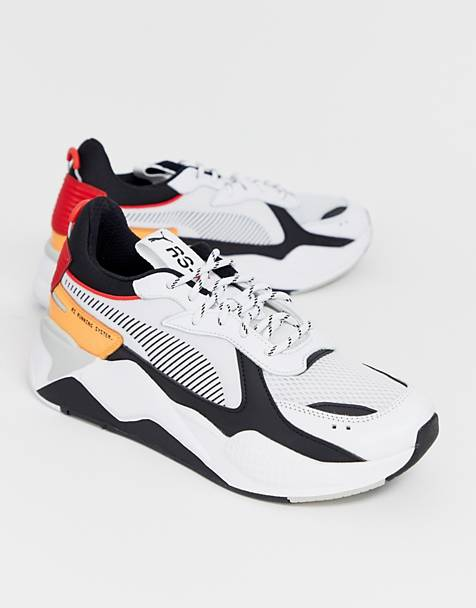 Puma RS-X Tracks trainers in white
