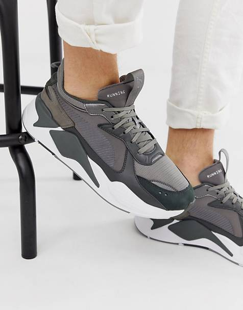 Puma RS-X Trophy trainers in grey