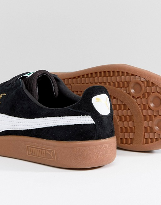Puma - Select Madrid - Baskets en daim - Noir 36493001