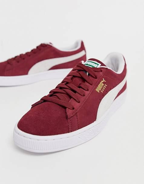 Puma Suede classic trainers in red