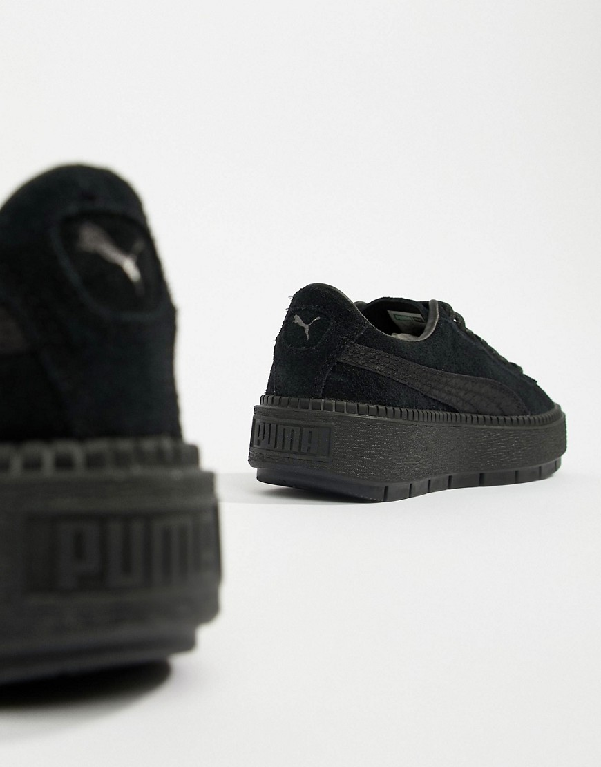 Puma Suede Platform Trace Animal Sneakers by Puma