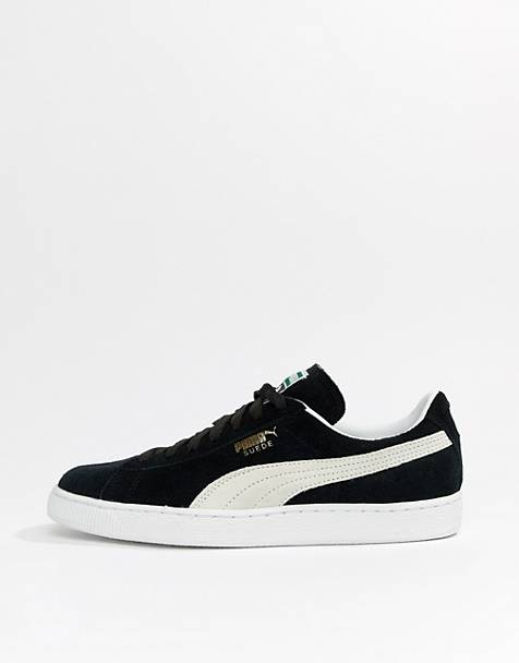 Puma Suede trainers in black