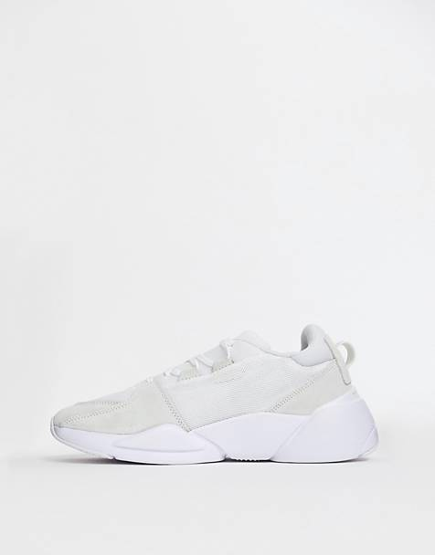 Puma Zeta Suede trainers in white